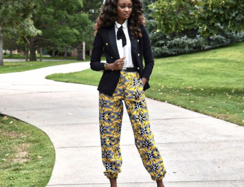 How to incorporate African prints to your office wear
